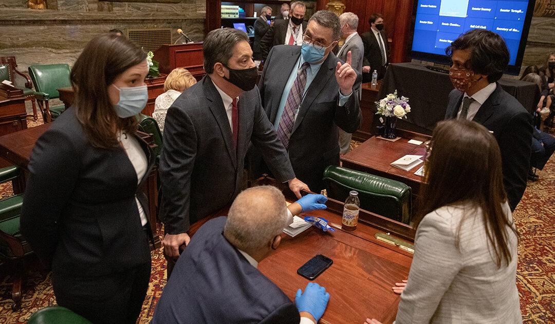 Senator Saval on Senate Floor