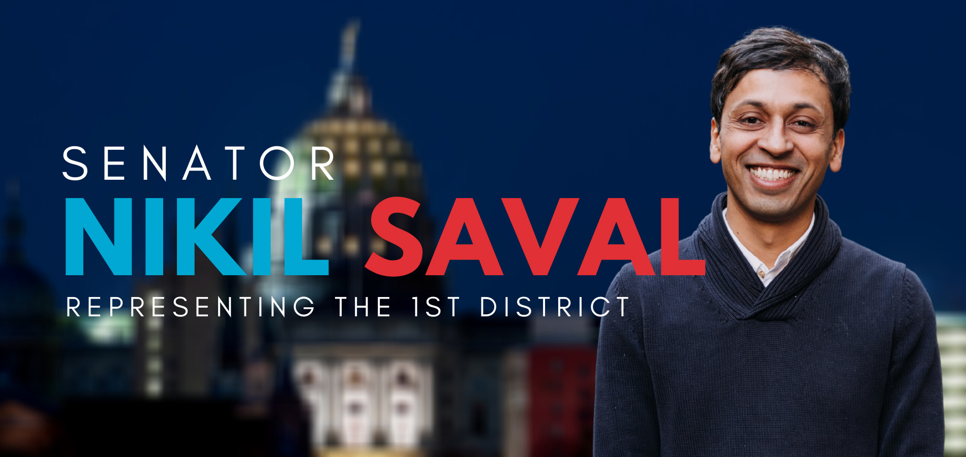 Senator-Elect Nikil Saval